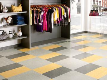 Vinyl Composition Tile Floor
